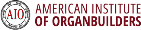 AIO – American Institute of Organ Builders Sticky Logo Retina