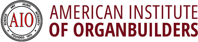 AIO – American Institute of Organ Builders Mobile Retina Logo