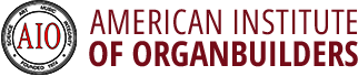 AIO – American Institute of Organ Builders Logo